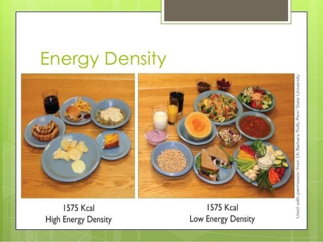 low energy density